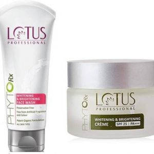 Lotus Professional PhytoRx SPF25 PA+++ Whitening and Brightening Creme And Face Wash