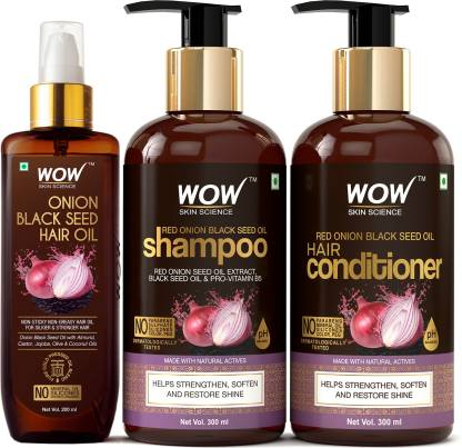 Red Onion Black Seed Oil Ultimate Hair Care Kit