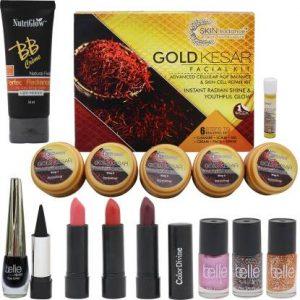 NutriGlow Skin Radiance gold kesar facial kit